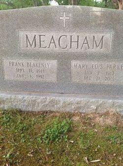 Frank Blakeney Meacham