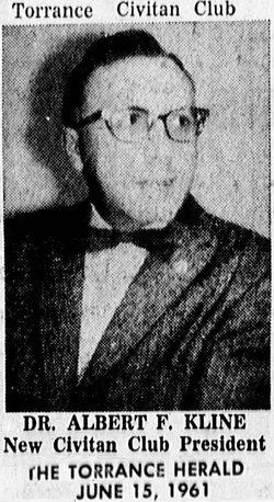 Dr Albert Frederick Kline, III