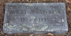 Rev J. Franklin Babb