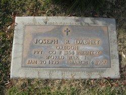 Joseph Richard Dabney