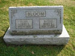 Mary E <i>Waltz</i> Bloom