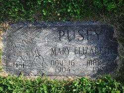 Mary E <i>Johnston</i> Pusey