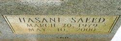 Hasani Saeed Adams