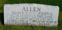 Joseph George Allen
