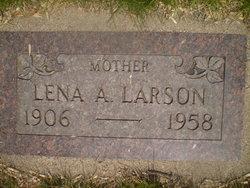 Lena A <i>Anderson</i> Larson