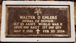 Lieut Walter David Walt Ehlers