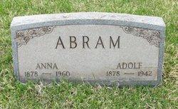 Anna <i>Daus</i> Abram