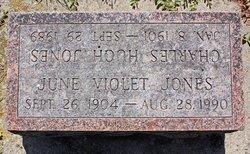 June Violet <i>Harris</i> Jones