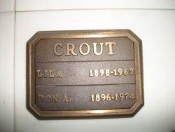 Lillian Mary Lila <i>Curtin</i> Crout