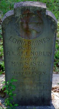 Lenna <i>Noblin</i> Barnes