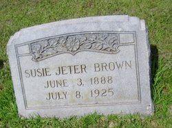 Susie <i>Jeter</i> Brown
