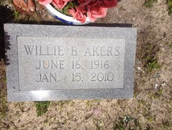 Mrs Willie Belle Akers