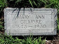 Mary Ann <i>Siscoe</i> Gilmore