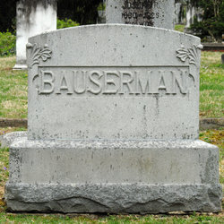 Caroline A Carrie <i>Sine</i> Bauserman
