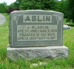 Frances E. <i>Casey</i> Aslin