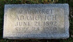 Margaret <i>Kralic</i> Adamovich