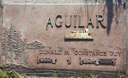 Mrs Constance Joy <i>Evans</i> Aguilar