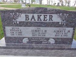 Albert Edward Al Baker, III