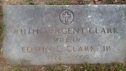 Ruth M. <i>Sargent</i> Clark