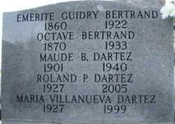 Emerite <i>Guidry</i> Bertrand