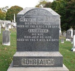 Catharine Elizabetha <i>Bortner</i> Rohrbaugh
