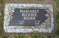 Margaret <i>Buckbee</i> Bourn
