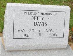 Betty <i>Earp</i> Davis