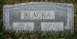 Don E Blacka