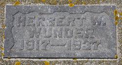 Herbert William Wunder