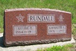Lettie E. Rundall