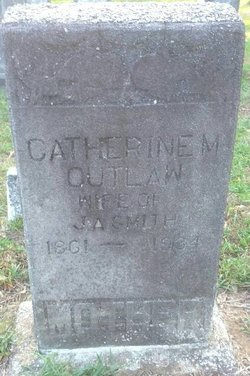 Catherine M <i>Outlaw</i> Smith