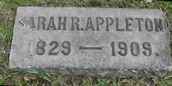Eliza Sarah <i>Ross</i> Appleton