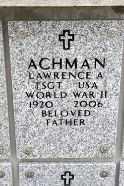 Lawrence A Achman