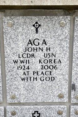 John H Aga
