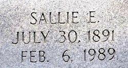 Sallie E <i>Springer</i> Thompson