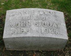 Annie <i>Lyon</i> Quay