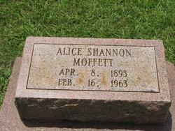 Alice <i>Shannon</i> Moffett