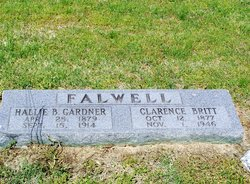 Hallie Bell <i>Gardner</i> Falwell