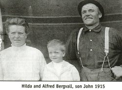 Johan Alfred Alfred Bergvall