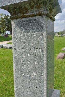 Sophronie E <i>Wilson</i> Aiston