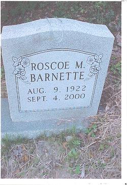 Roscoe Mason Barnette