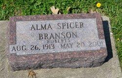 Alma Spicer <i>Roberts</i> Branson