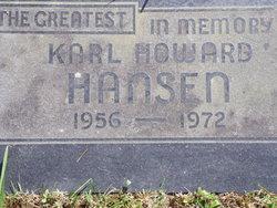 Karl Howard Hansen