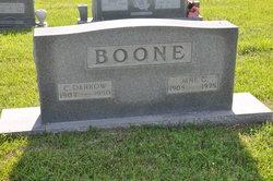 Jane <i>Gentry</i> Boone