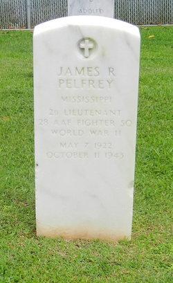 Lieut James Robert Pelfrey