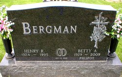 Betty A <i>Donnerberg Bergman</i> Phlipot