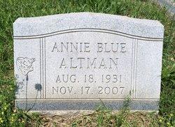 Annie <i>Blue</i> Altman