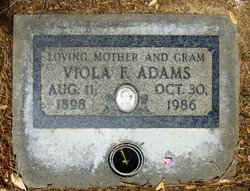 Mrs Viola Frances <i>Campbell</i> Adams
