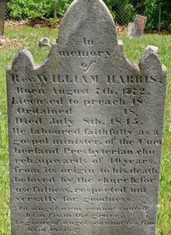 Rev William M. Harris