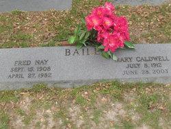 Mary <i>Caldwell</i> Bailey